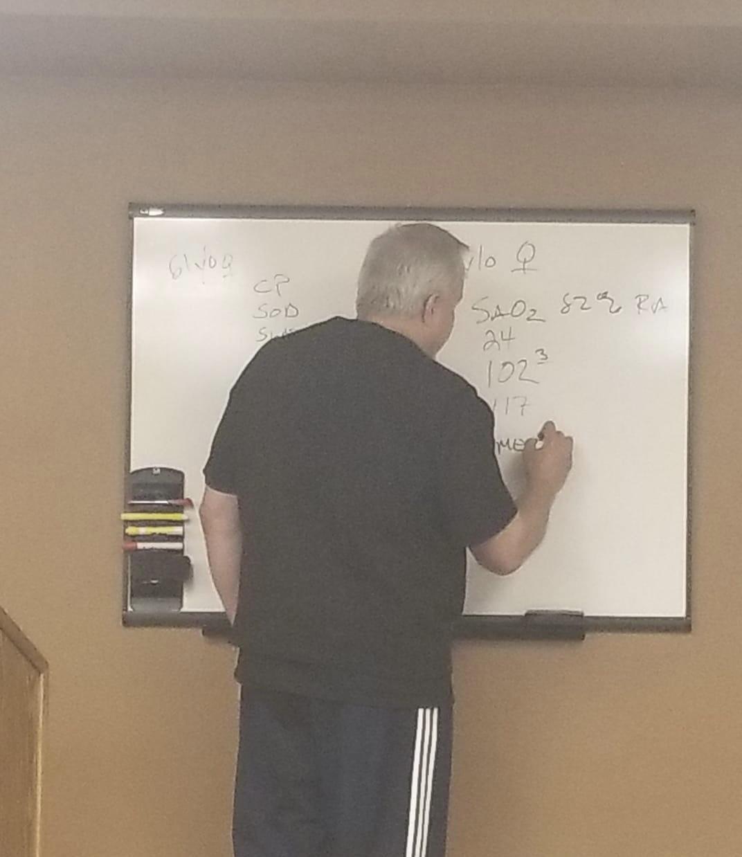 Man at Whiteboard